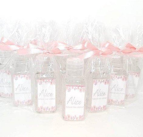 Lembrancinha Maternidade - Mini álcool gel 40 ml basic