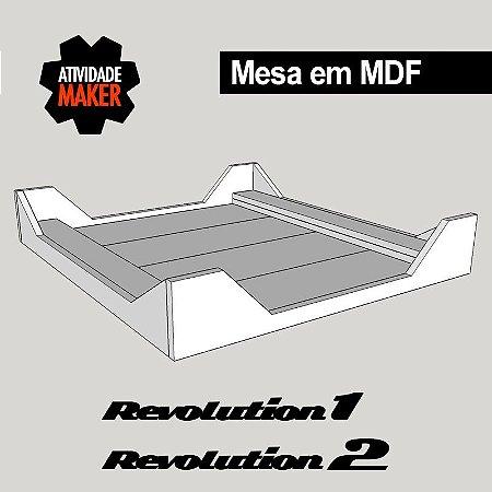 Kit Estrutura MDF MESA - Revolution 1 ou 2