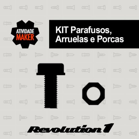 Kit Parafusos Revolution 1