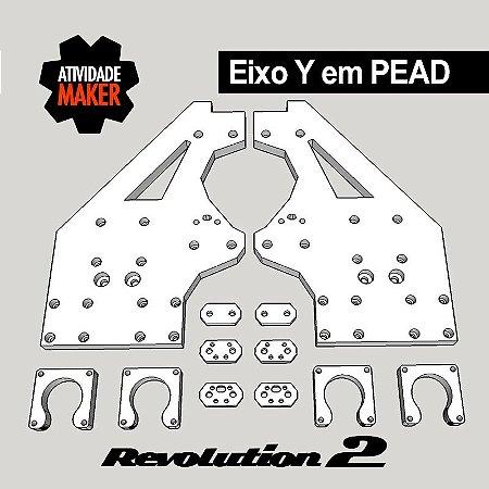 Kit Estrutura PEAD Eixo Y - Revolution 2