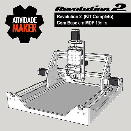 Revolution 2 - Kit Completo com BASE em MDF