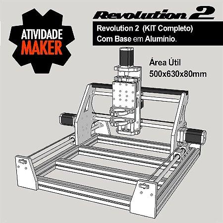 Revolution 2 - Kit Completo com BASE em Alumínio - Grande