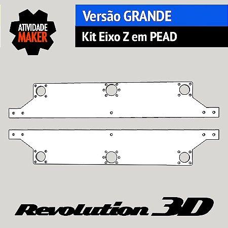 Kit Eixo Z versão Grande em PEAD
