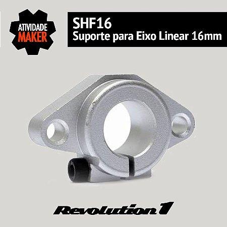 SHF16 - Suporte para eixo linear de 16mm