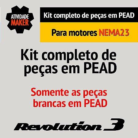 Kit completo de peças em PEAD - NEMA23