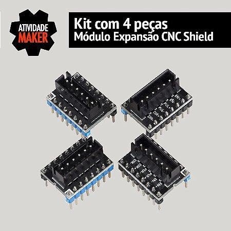 Módulo Expansão CNC Shield