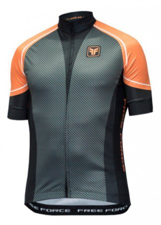 CAMISA CICLISMO MASCULINA - CARBON - FREE FORCE