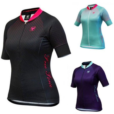 BLUSA CICLISMO FEMININA - POINT - FREE FORCE