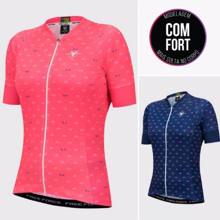 BLUSA CICLISMO FEMININA - CYCLES - FREE FORCE