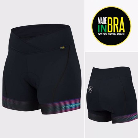 SHORT CICLISMO FEMININO - RISK - FREE FORCE