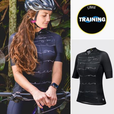 BLUSA CICLISMO FEMININA - TRAINING NANKIN - FREE FORCE