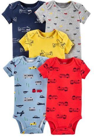 78651595ee Kit Body 5 Peças - Carter´s - Outlet Bebel Baby Clothing