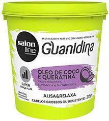 Cr Alisante Relaxante S Line Guanidina 215G Oleo De Coco
