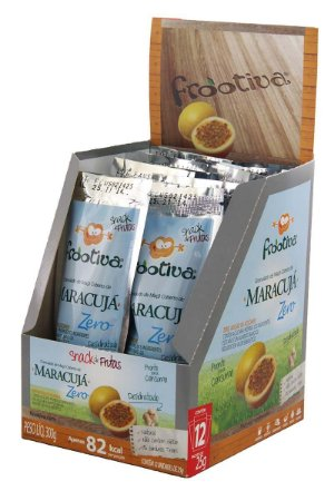 Frootiva Maracujá Zero Açúcar Caixa com 12 unidades