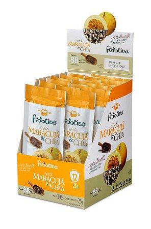Frootiva Maracujá & Chia Caixa com 12 unidades