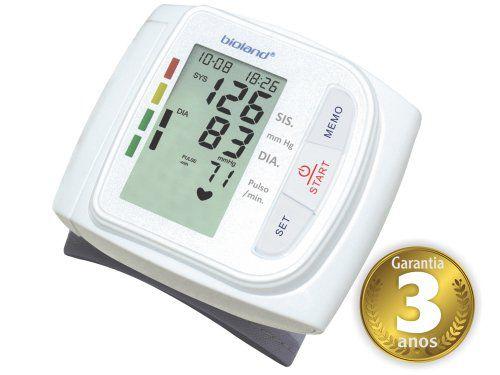 Monitor de Pressão Digital Automático de Pulso - Modelo 3005 Bioland