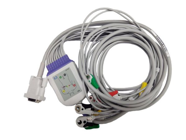 Cabo Paciente 10 Vias Compatível Eletrocardiógrafo Dixtal EP-3