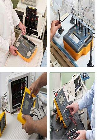 Calibração & Segurança Elétrica em Cardioversor