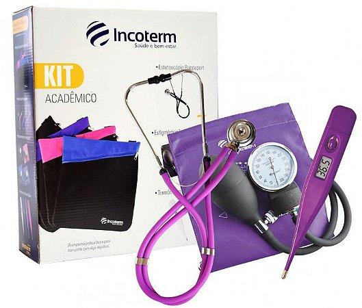 Kit Acadêmico KA100 Lilás Incoterm