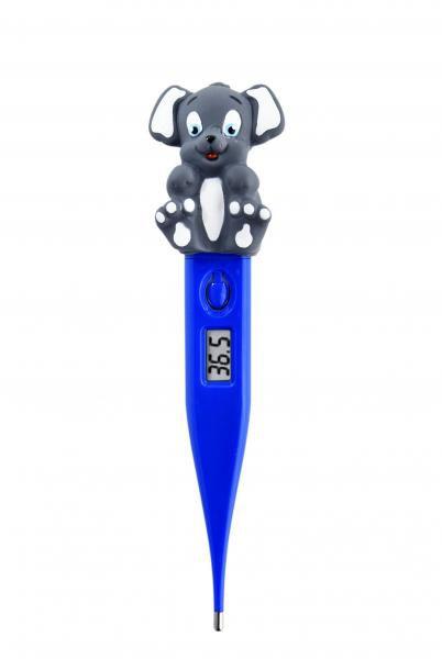 Termômetro Clínico Digital Termomed Cachorrinho Azul Intenso - Incoterm