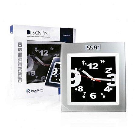 Balança Corporal Digital com Relógio - Incoterm
