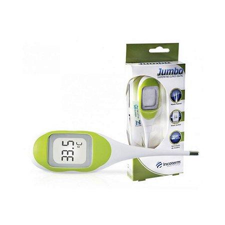 Termômetro Clínico Digital Verde Jumbo - Incoterm