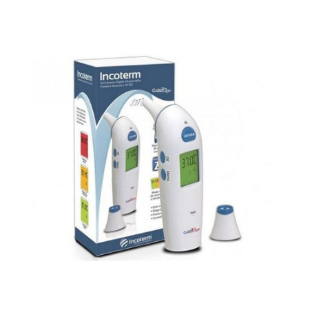 Termômetro Auricular e Frontal Color Check - Incoterm