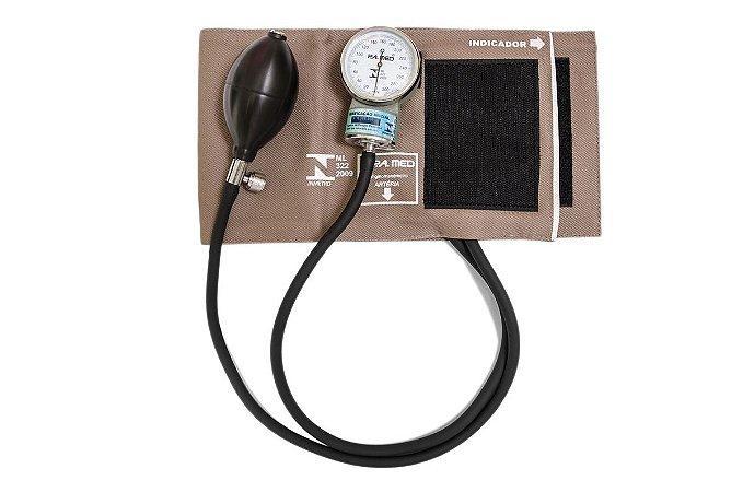 Aparelho de Pressão Adulto Brim Velcro PA1002 - Pamed