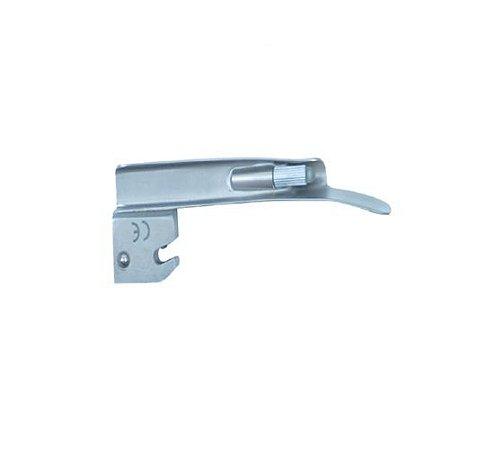 Lâmina de Aço Inox Convencional P/ Laringoscópio Reta 1 - Protec