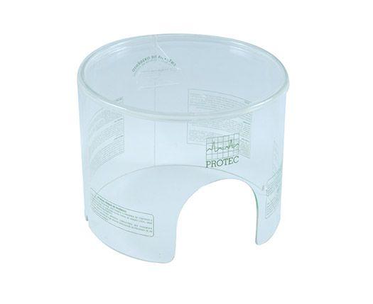 Capacete Grande P/ Oxigênio 25 X 18 CM - Protec