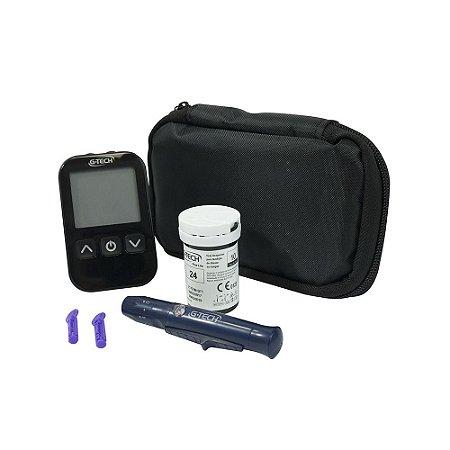 Kit Medidor de Glicose  Free Lite - Glicosímetro - GTECH