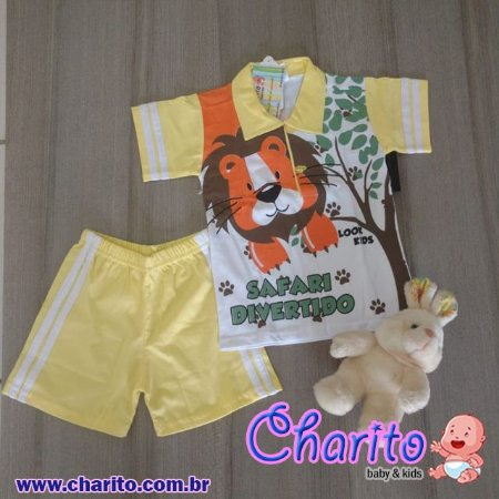 Conjunto Polo e Short