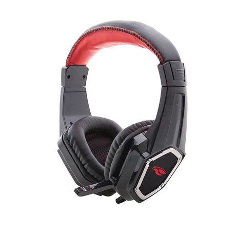 Fone de Ouvido com Microfone Headset Gamer Crow PH-G100BK C3Tech