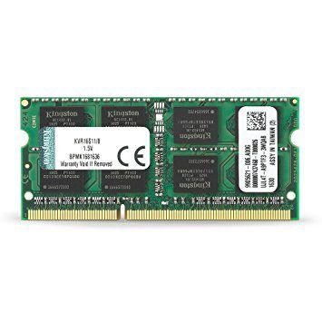 Memória RAM DDR3 8GB 1600Mhz KVR16S11/8 SODIMM - Kingston