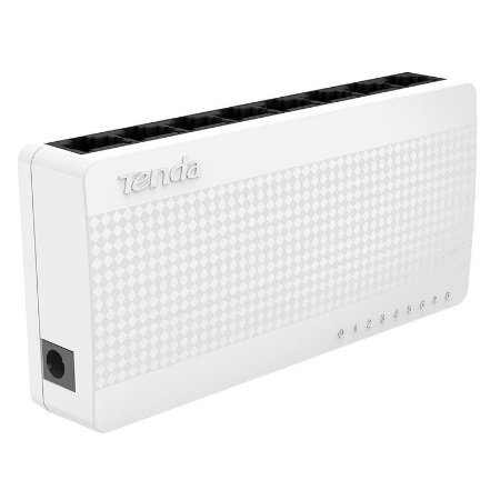 Switch 08 portas Tenda S108 10/100Mbps
