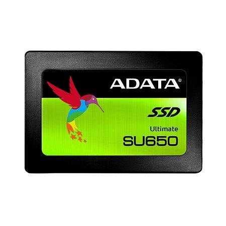 Disco Rígido em Estado Sólido SSD 120GB ADATA SU650