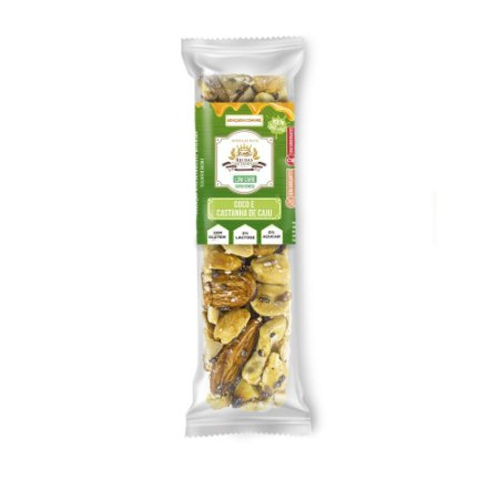 Barra de Nuts :: Coco e Castanha de Caju - King´s Nuts