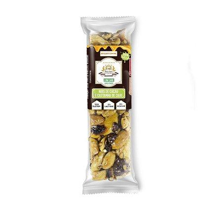Barra de Nuts :: Nibs de Cacau e Castanha de Caju - King´s Nuts