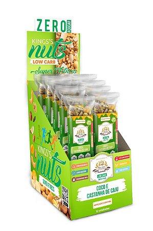 Barra de Nuts :: King´s Nuts - Caixa c/12 Unidades