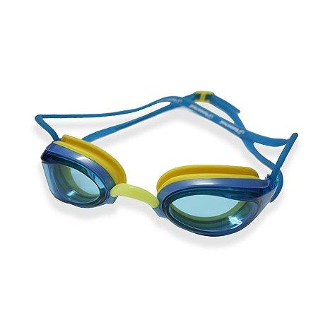 Óculos Aquatech Azul E Amarelho Hammerhead