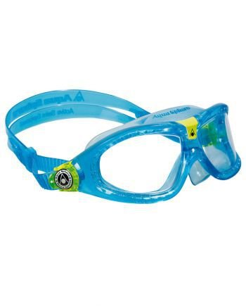 3fa2fb657f1a4 Óculos Seal Kids 2 Azul -Lente Transparente - Atrito Zero