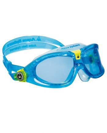 0c7ff2d3f Óculos Seal Kids 2 Azul- Lente Azul Aqua Sphere - Atrito Zero