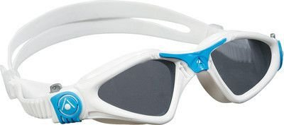 Oculos Aqua Sphere Kayenne Branco Azul Lente Fume