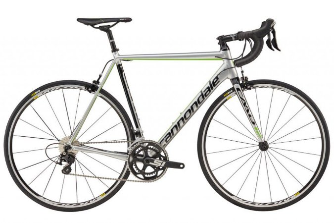 Bicicleta Cannondale Caad12 Disc 105  22V Cinza My18