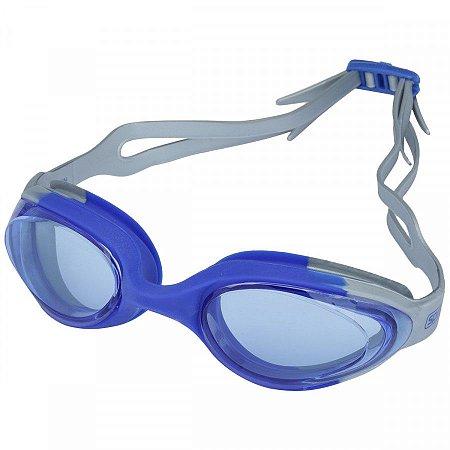 Oculos Speedo Hydrovision Azul Metalico Azul