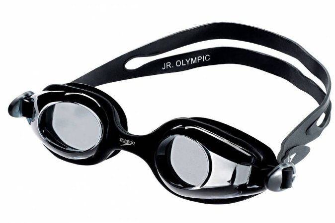 Oculos Speedo Junior Olympic Preto Fume
