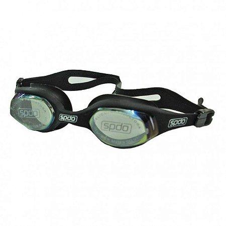Oculos Speedo Tempest Mirror Preto Espelhado
