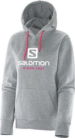 Moleton Logo Hoodie Salomon Cz
