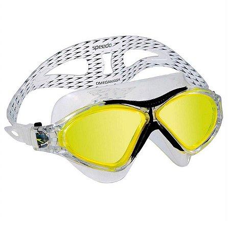 Oculos Speedo Omega Mask Amarelo