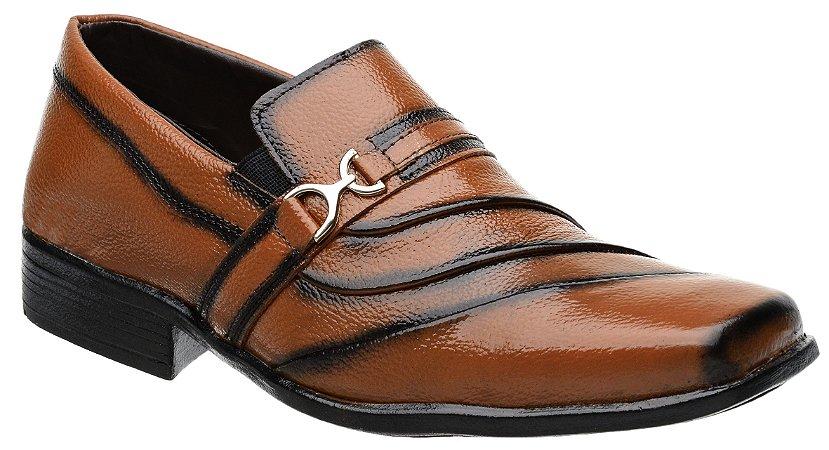 Sapato Social Masculino Fearnothi Couro Legítimo